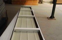 La puerta del garaje de acero motorizado Gavalume