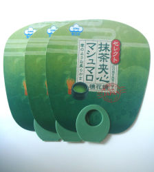 Círculo de moda do lado de PVC Ventilador de anúncio