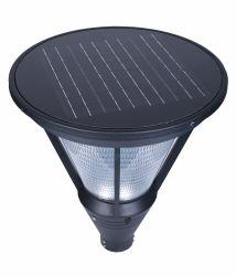 12W LED totalmente automática lámpara solar jardín
