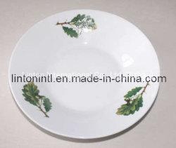 De Plaat/Ceramisch/het Porselein van de soep voor Dagelijks Gebruik en Restaurant