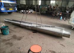 Forgeage d'usinage personnalisé en acier au carbone de l'arbre hélice marine