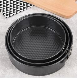 Non-Stick Kuchenform-Kuchen-Form-Kohlenstoffstahl-runde Pizza-Wanne