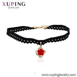 磁気吊り下げ式のネックレスの革宝石類