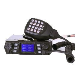 VHF / UHF 75W à double bande de voiture Qyt Mobile 980plus deux voies radio de la base de la radio à bord de véhicules interphone