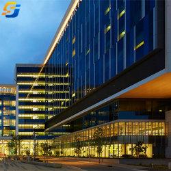 Estrutura de aço de construção de baixo custo dos planos de construção do depósito prefabricadas de preço alto edifício do Hotel Apartamentos Estrutura de aço