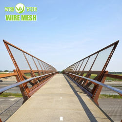 High-Strength из нержавеющей стали проволочного каната сетка Forstaircase/мост/ Зоопарк сетка