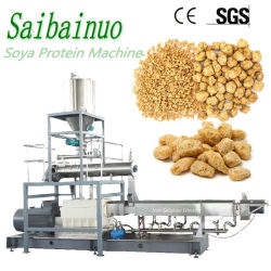 Het geweven Plantaardige Voedsel die van de Brokken van de Soja van het Vlees EiwitMachine maken