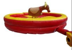Inflable redondo Bull Riding colchón Máquina mecánica de juego para niños
