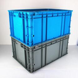 La UE de almacenamiento de alta calidad de plástico de apilamiento Contenedor para el comercio al por mayor