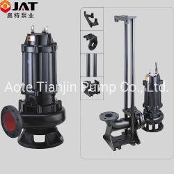 Non-Bloccare la pompa sommergibile di drenaggio delle acque luride centrifughe delle acque di rifiuto con l'accoppiamento automatico (WQ), la pompa dello stagno, la pompa del giardino, la pompa sommergibile, pompa dei residui