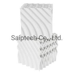 Imballaggio strutturato di ceramica per le applicazioni di scambio di calore e di trasferimento di massa