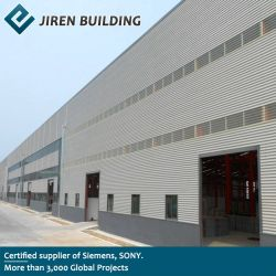 ASTMのプレハブの産業金属のプレハブの構造建物/鉄骨フレームの構造の記憶の構築の倉庫