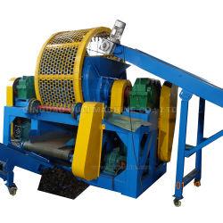 Abfall ermüdet das Puder, welches die Wiederverwertung der maschinelle Herstellung-Zeile zum Gummi reibt