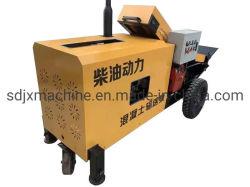 grande pompa per calcestruzzo del motore diesel di potere 15m3/H mini da vendere