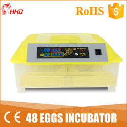 異なったハ虫類動物(YZ8-48)のための熱い販売48の卵の定温器