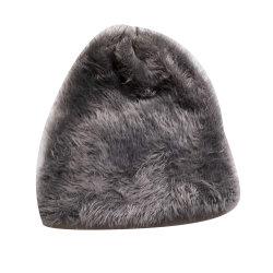 Women's Super Doux, fils de plumes Beanie Hat, chapeau avec doublure polaire polaire sur la bande