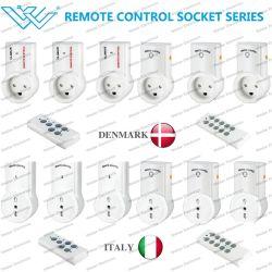 Demark/Itlay Smart Plug Toma Control remoto de la toma de alimentación inteligente danés