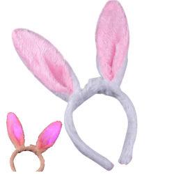جميل ليّنة قطيفة أرنب أرنب أذن عصابة لأنّ نساء بنات