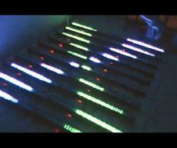 3row het Licht 8pixels van de LEIDENE LEIDENE van de Staaf Wasmachine van de Muur