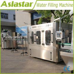250ml -2L liquide entièrement automatique de boissons minéral bouteille PET pur l'eau potable de laver le rinçage de l'embouteillage plafonnement de l'usine de conditionnement d'étiquetage de remplissage