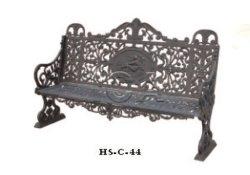 Westlicher Art-Garten-Technik-Roheisen-Stuhl mit Qualität