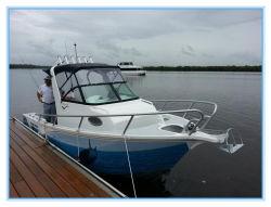 L'aluminium Targa Cuddy centre de pêche Bateau de vitesse du moteur 150HP pour le plaisir
