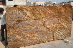インドからのDecoratiomの石造りの熱帯雨林のブラウンのホーム大理石