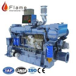 Weichai wd10/ Wd615 200HP Motor diesel marítimo 2100rpm