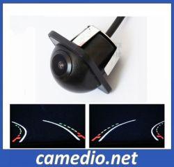 Vue arrière de la voiture de gros HD Caméra de suivi dynamique de trajectoire d'inversion de ligne de stationnement