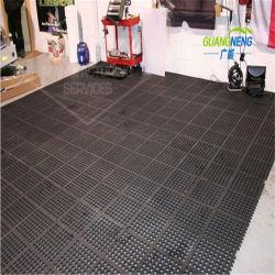 O tapete do piso de borracha de intertravamento do ambiente para Swimming-Pool