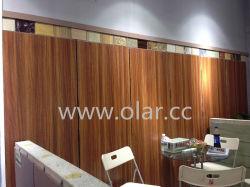 Haute brillance du grain du bois Revêtement UV Conseil/panneau décoratif pour intérieur