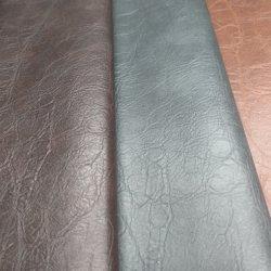 Многоцветные ПВХ ткани с покрытием из натуральной кожи для диван /мебели - Дерево