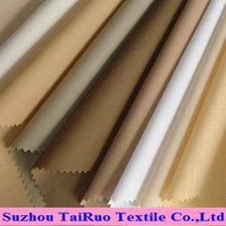 Planície de Nylon poliéster microfibra escovado para cortinas de pele de pêssego