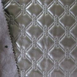 Vuelo de empuñadura de PVC en relieve de la bolsa de cuero 9223