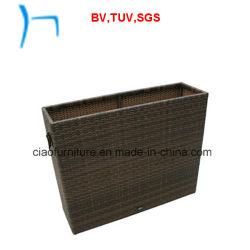 F- открытый Стрит плетеной мебели плетеной Flower Pot (L-002)