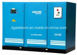 compressore d'aria rotativo Non-Lubrificato senza olio della vite ecc