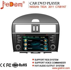 7 Inch TFT LCD Touch Screenavigation System für Nissans Tiida 2011 mit Bln Car DVD GPS Navigation System für Nissans Tiida 2011 mit Bluetooth+Radio+iPod+Video