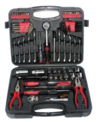 82 pcs Kit d'outil à main avec des outils communs pour la maison