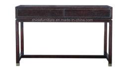 Oriental Antique Furniture Black Color Study Desk