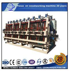 Hölzerne Platte, welche die Maschinen/verbinden Maschinen-/Luft-hölzerne Presse-Maschine Soild hölzerne hydraulische Komponist-Preis-hydraulische hölzerne Presse ausübt