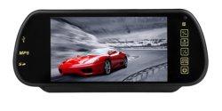 7 polegada de Espelho Retrovisor Bluetooth Monitor, Carro LCD, monitor LED Monitor de tela