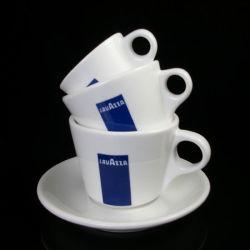 80ml latte en céramique tasse tasse de café Lavazza Espresso italien Tasse et soucoupe