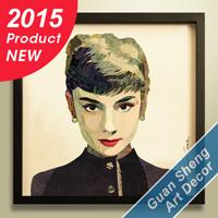 Guansheng Ca026 Hete 2015 verkoopt de Foto van de Frames van de Beelden van Vrouwen