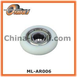 محمل بكرة مطلي من البلاستيك للنوافذ والباب (ML-AR006)