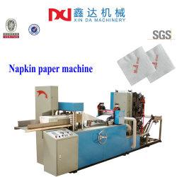 Automatischer Druck geprägte Serviettenpapiermaschine zum Falzen Serviettengewebe Ausrüstung