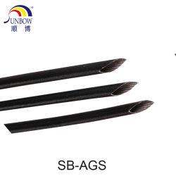 Résistance élevée à haute température Self-Extinguishing Voltage-Resistance gaine en fibre de verre enduit acrylique