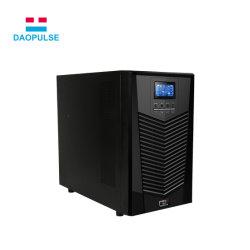 UPS en línea monofásica para Sistema de Alimentación y la batería de UPS de alta frecuencia de onda sinusoidal pura fuente de alimentación ininterrumpida SAI