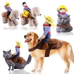 Vestiti d'avanguardia di inverno del cane del cavallo di guida degli accessori dei vestiti degli animali domestici di Halloween