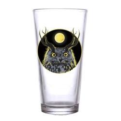 cristalleria fatta a macchina di vetro personalizzata di vetro di marchio di vetro di birra della pinta 600ml