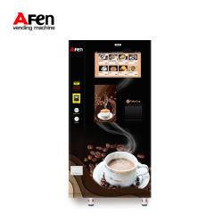 Afen 2020 neue Roboter-Kaffee-Verkaufäutomat-Münzebill-Kreditkarte für Büro